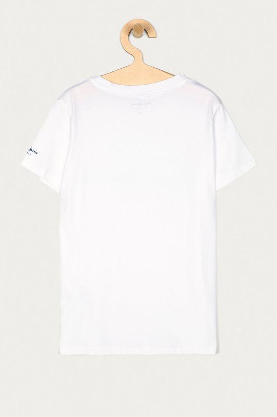 Pepe Jeans - T-shirt dziecięcy Kwan 128-180 cm biały