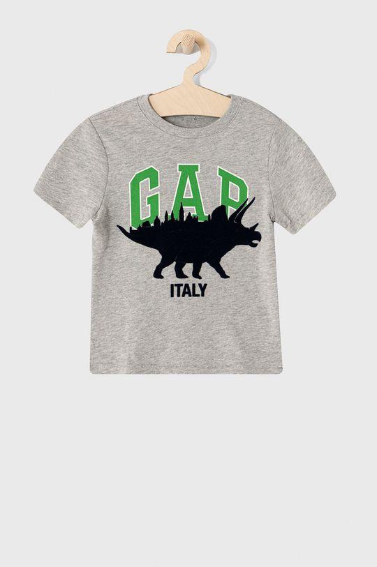 jasny szary GAP - T-shirt dziecięcy 62-110 cm Chłopięcy