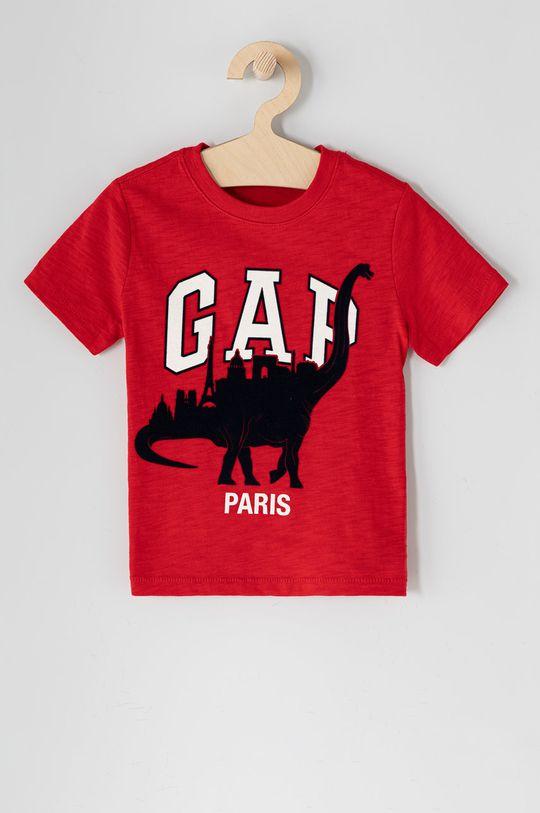 ostry czerwony GAP - T-shirt dziecięcy 62-110 cm Chłopięcy