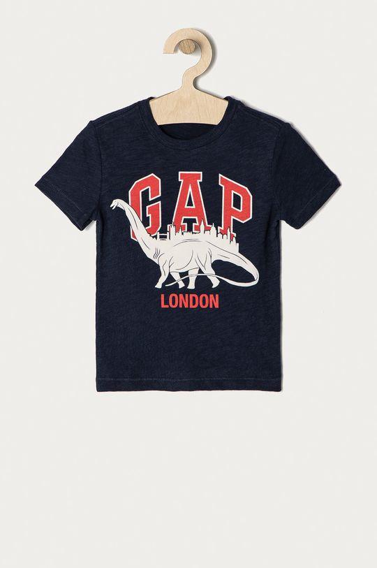 granatowy GAP - T-shirt dziecięcy 62-110 cm Chłopięcy
