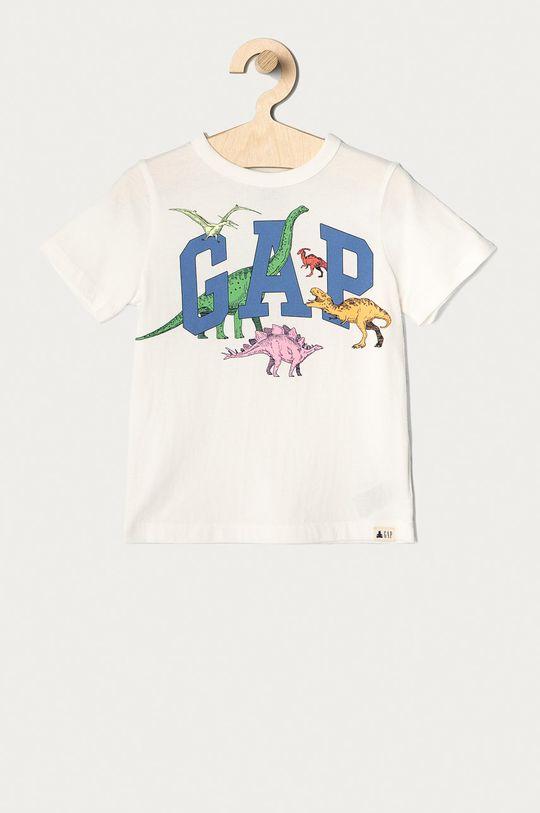 biały GAP - T-shirt dziecięcy 74-110 cm Chłopięcy