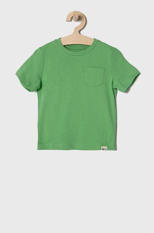 żółty GAP - T-shirt dziecięcy 74-110 cm (3-pack) Chłopięcy