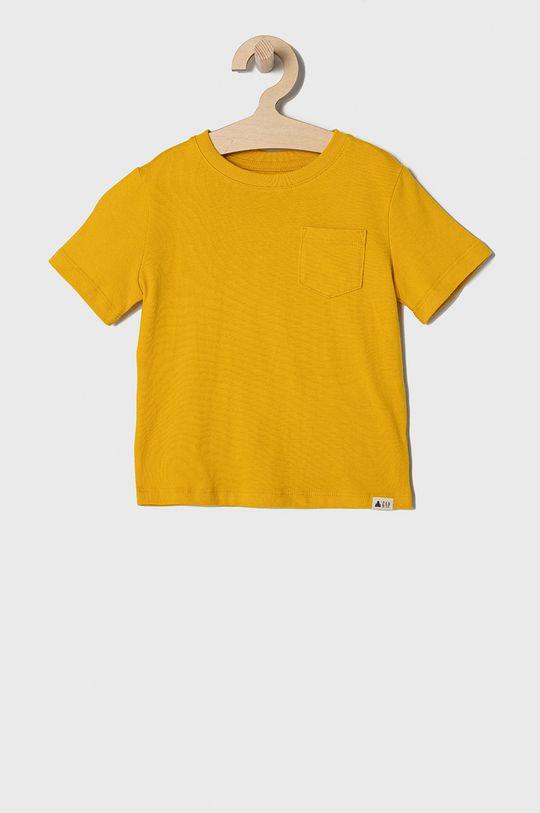 GAP - T-shirt dziecięcy 74-110 cm (3-pack) żółty