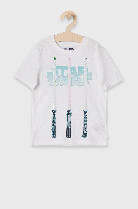 biały GAP - T-shirt dziecięcy 104-176 cm Chłopięcy