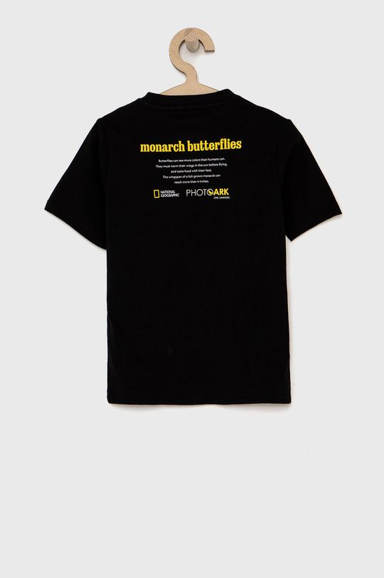 GAP - T-shirt dziecięcy czarny