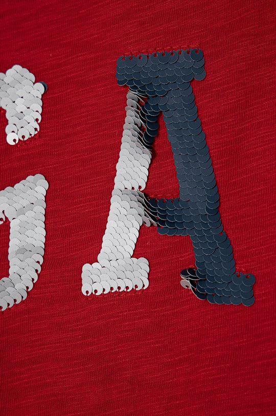 GAP - Dětské tričko 104-176 cm červená