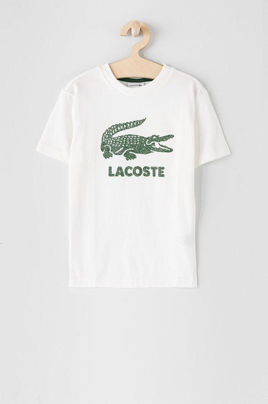 biały Lacoste - T-shirt dziecięcy 104-176 cm Chłopięcy