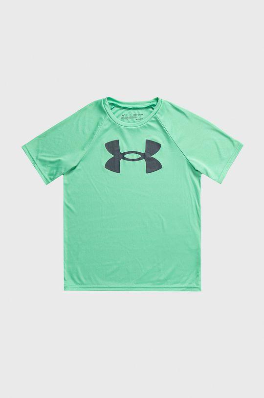 zielony Under Armour - T-shirt Chłopięcy