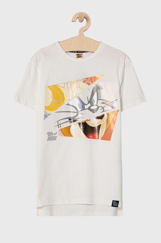 biały OVS - T-shirt dziecięcy Chłopięcy