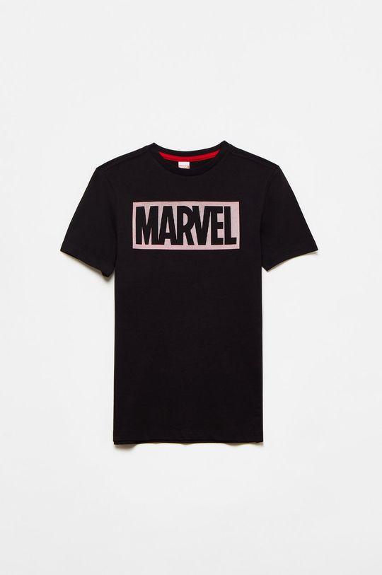 czarny OVS - T-shirt dziecięcy Chłopięcy