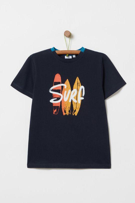 námořnická modř OVS - Dětské tričko Chlapecký