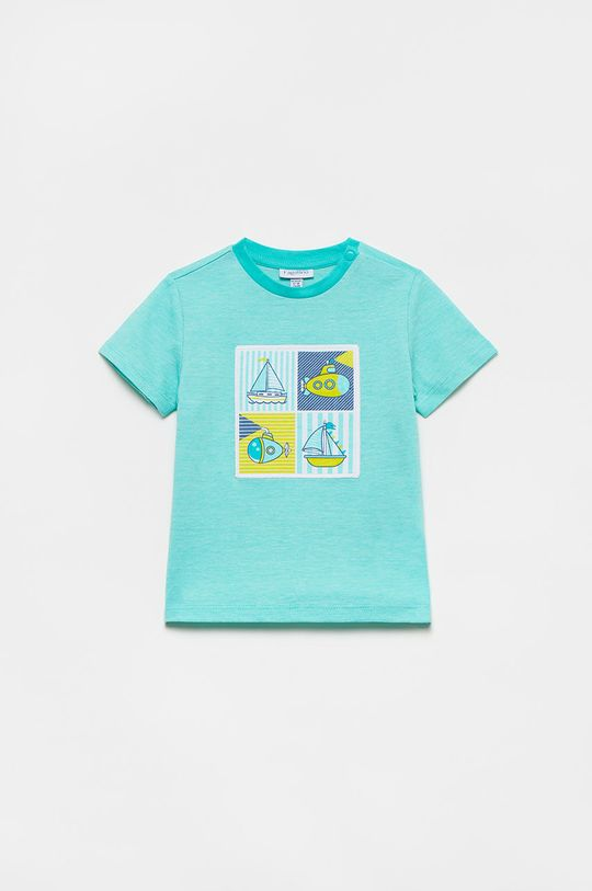 světle tyrkysová OVS - Dětské tričko Chlapecký