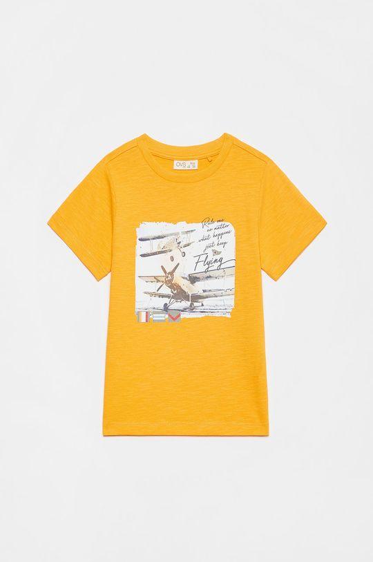 koralowy OVS - T-shirt dziecięcy Chłopięcy