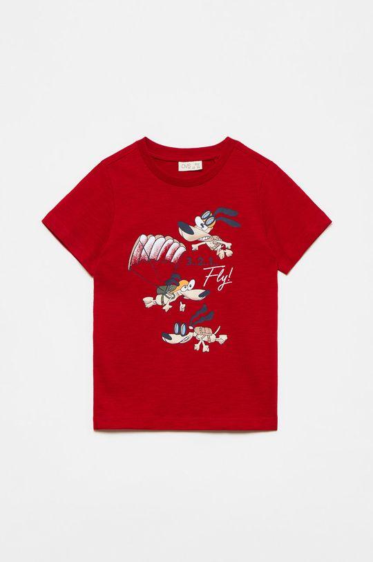 ostry czerwony OVS - T-shirt dziecięcy Chłopięcy
