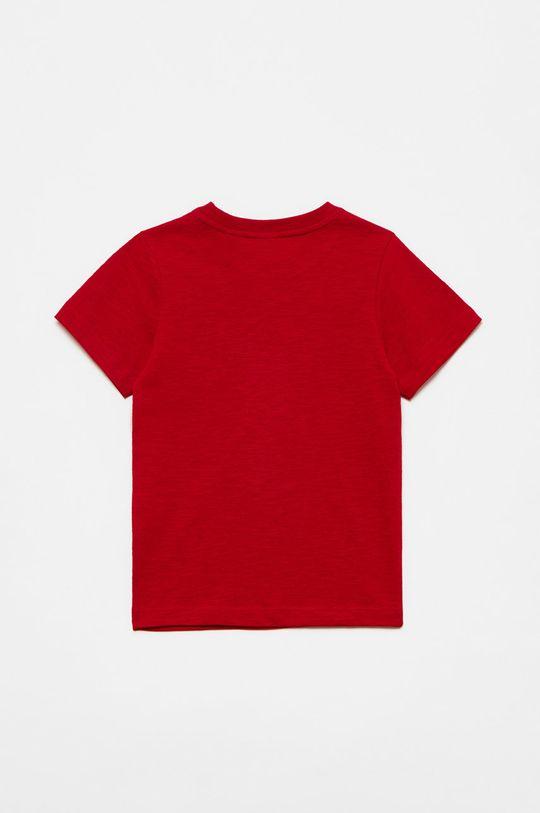 OVS - T-shirt dziecięcy ostry czerwony