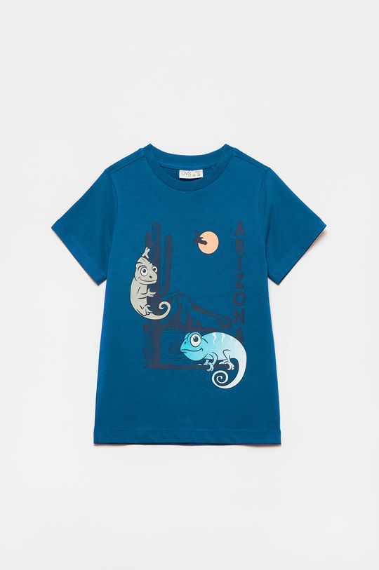 fialová OVS - Detské tričko Chlapčenský