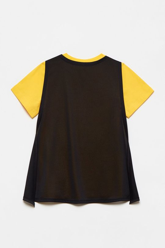OVS - T-shirt dziecięcy jasny pomarańczowy
