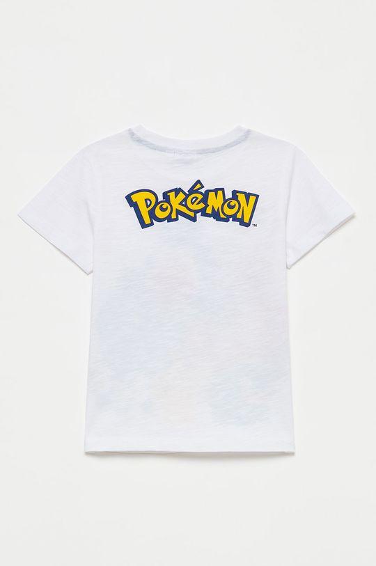 OVS - Tricou de bumbac pentru copii alb