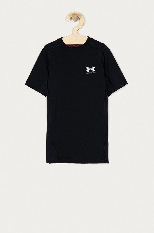 czarny Under Armour - T-shirt Chłopięcy