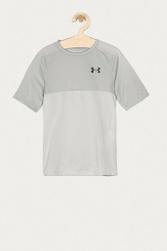 světle šedá Under Armour - Dětské tričko 122-170 cm Chlapecký