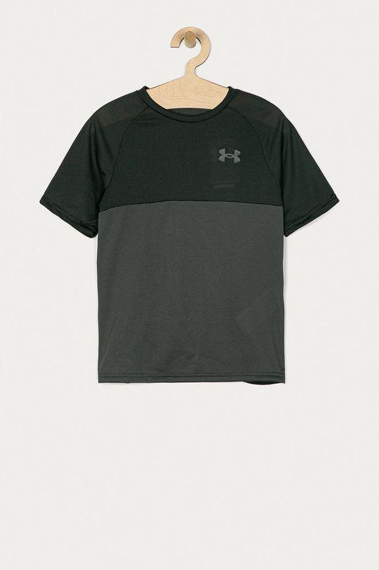 šedá Under Armour - Dětské tričko 122-170 cm Chlapecký