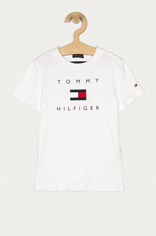 biały Tommy Hilfiger - T-shirt dziecięcy 74-176 cm Chłopięcy