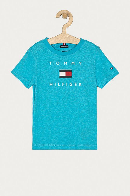niebieski Tommy Hilfiger - T-shirt dziecięcy 74-176 cm Chłopięcy