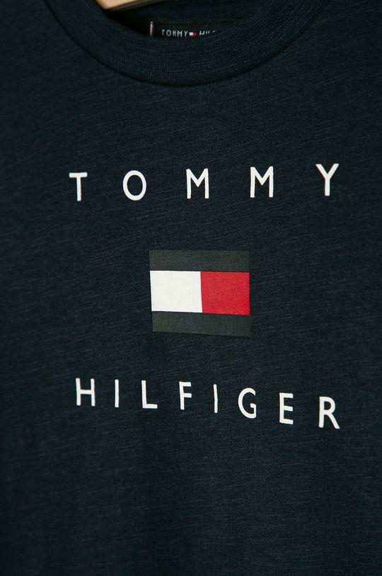 Tommy Hilfiger - T-shirt dziecięcy 74-176 cm granatowy