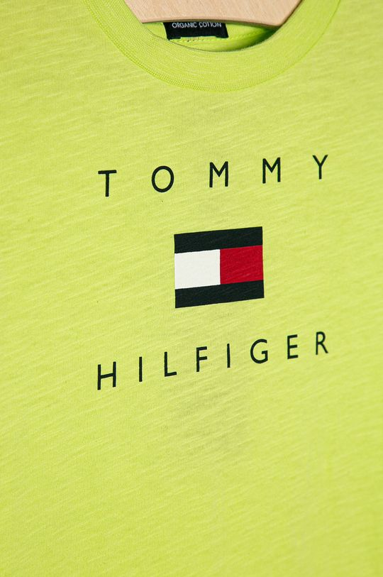 Tommy Hilfiger - Dětské tričko 74-176 cm žlutě zelená