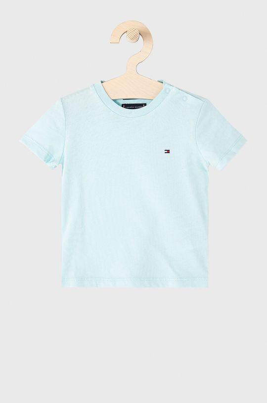 jasny niebieski Tommy Hilfiger - T-shirt dziecięcy 74-176 cm Chłopięcy