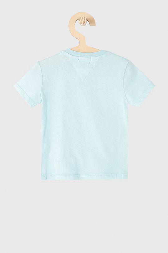 Tommy Hilfiger - T-shirt dziecięcy 74-176 cm jasny niebieski