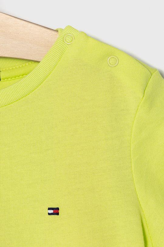 Tommy Hilfiger - T-shirt dziecięcy 74-176 cm żółto - zielony