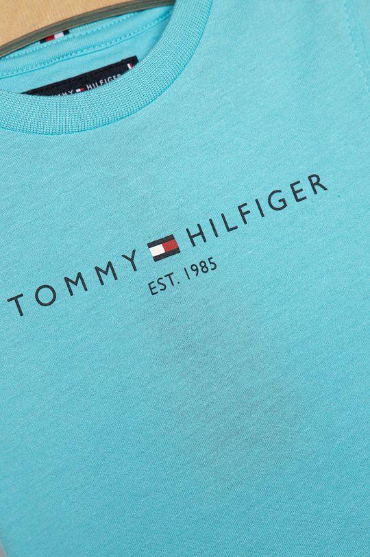 Tommy Hilfiger - Detské tričko 74-176 cm morská modrá
