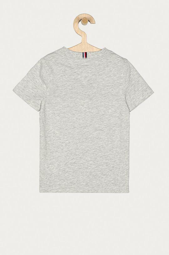 Tommy Hilfiger - T-shirt dziecięcy 104-176 cm jasny szary