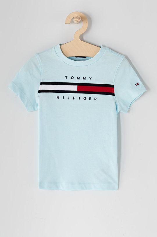 světle modrá Tommy Hilfiger - Dětské tričko 104-176 cm Chlapecký