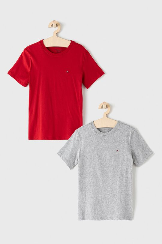 czerwony Tommy Hilfiger - T-shirt dziecięcy (2-pack) 128-164 cm Chłopięcy
