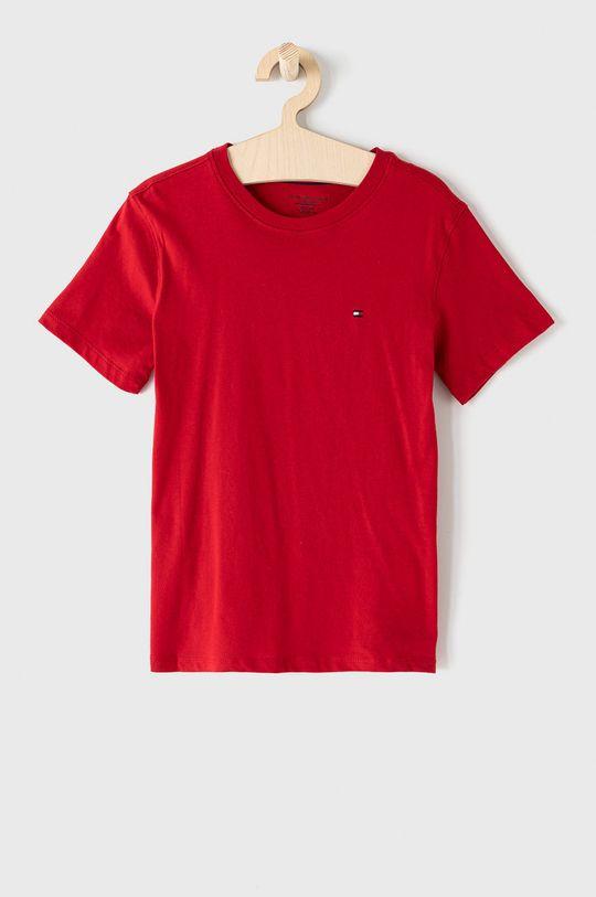 Tommy Hilfiger - T-shirt dziecięcy (2-pack) 128-164 cm czerwony