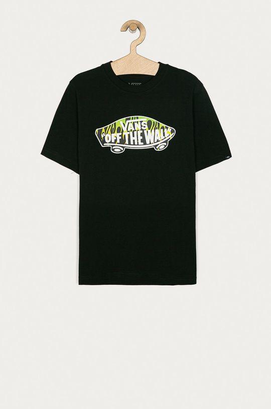čierna Vans - Detské tričko 129-173 cm Chlapčenský