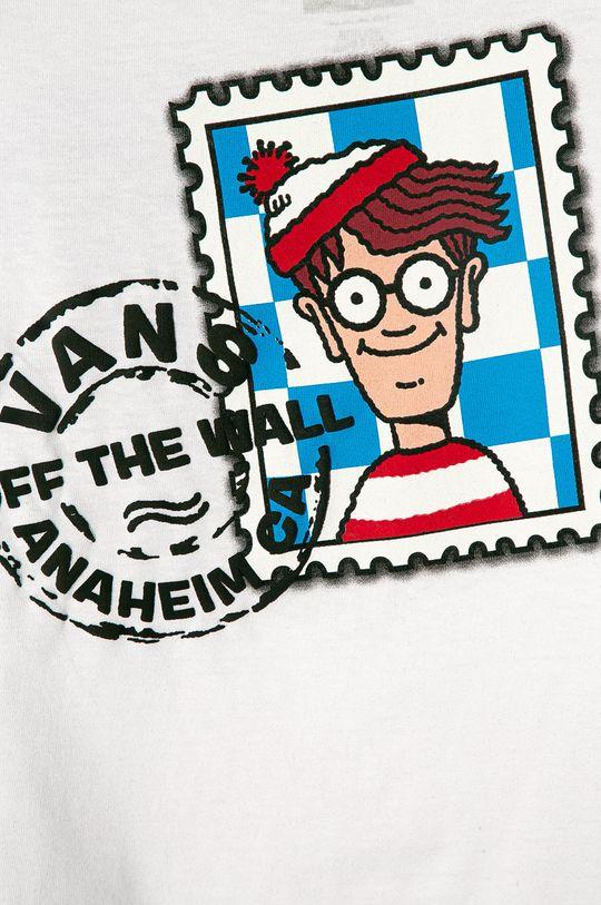 Vans - Tricou copii x Where Is Wally 98-122 cm alb