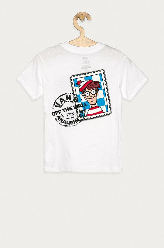 Vans - Tricou copii x Where Is Wally 98-122 cm  100% Bumbac