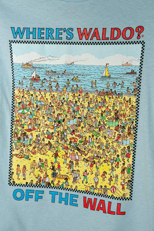 Vans - Detské tričko 98-122 cm modrá