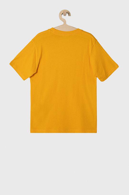 Vans - T-shirt dziecięcy 129-173 cm żółty