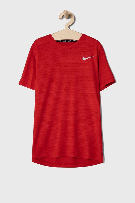 czerwony Nike Kids - T-shirt dziecięcy 122-170 cm Chłopięcy