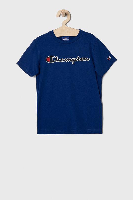 niebieski Champion - T-shirt dziecięcy 102-179 cm Chłopięcy