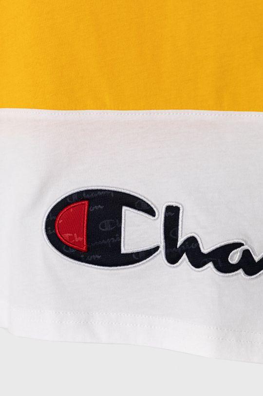 Champion - T-shirt dziecięcy 102-179 cm bursztynowy