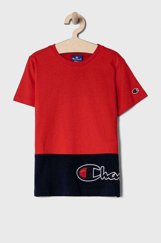 czerwony Champion - T-shirt dziecięcy 102-179 cm Chłopięcy