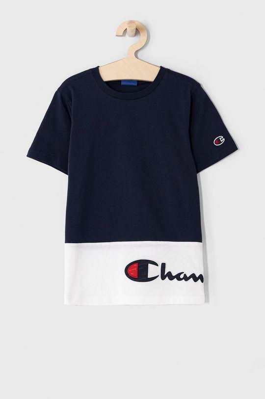 granatowy Champion - T-shirt dziecięcy 102-179 cm Chłopięcy