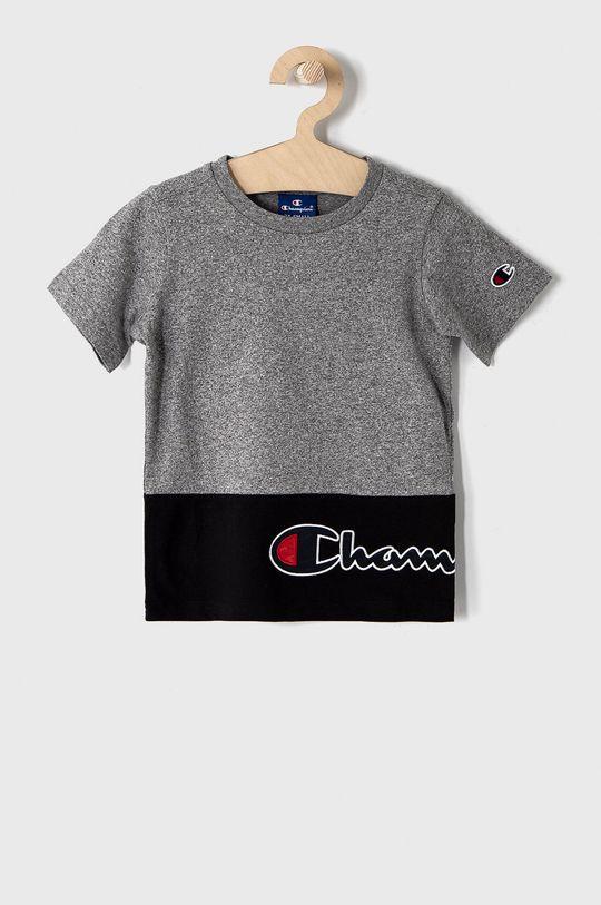 szary Champion - T-shirt dziecięcy 102-179 cm Chłopięcy