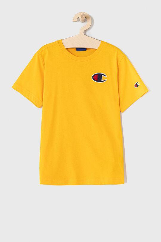 žlutá Champion - Dětské tričko 102-179 cm. Chlapecký