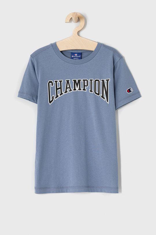 modrá Champion - Detské tričko 102-179 cm Chlapčenský